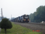 NS 1700 leads this EB NS Train